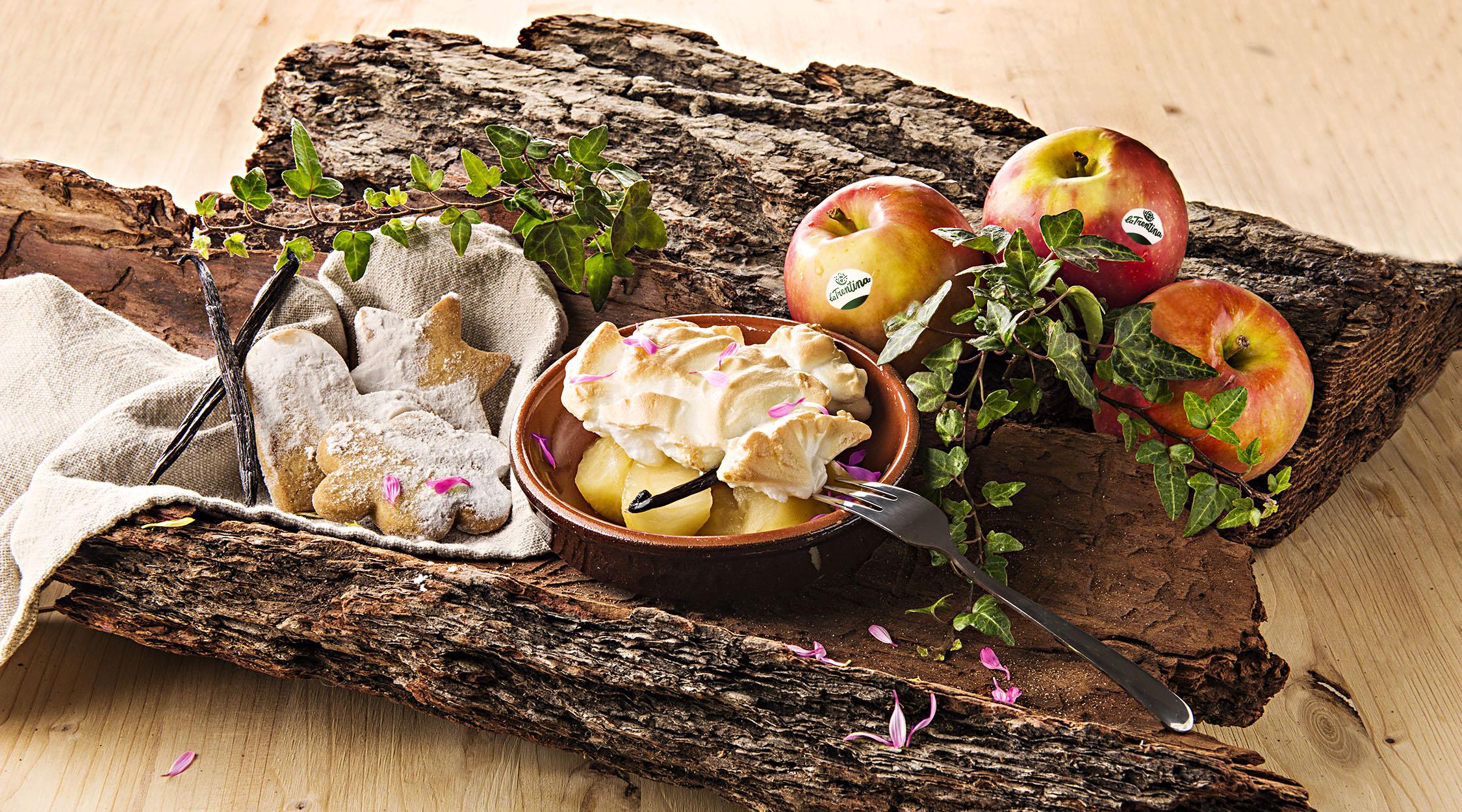 Composta di mele Morgenduft meringata