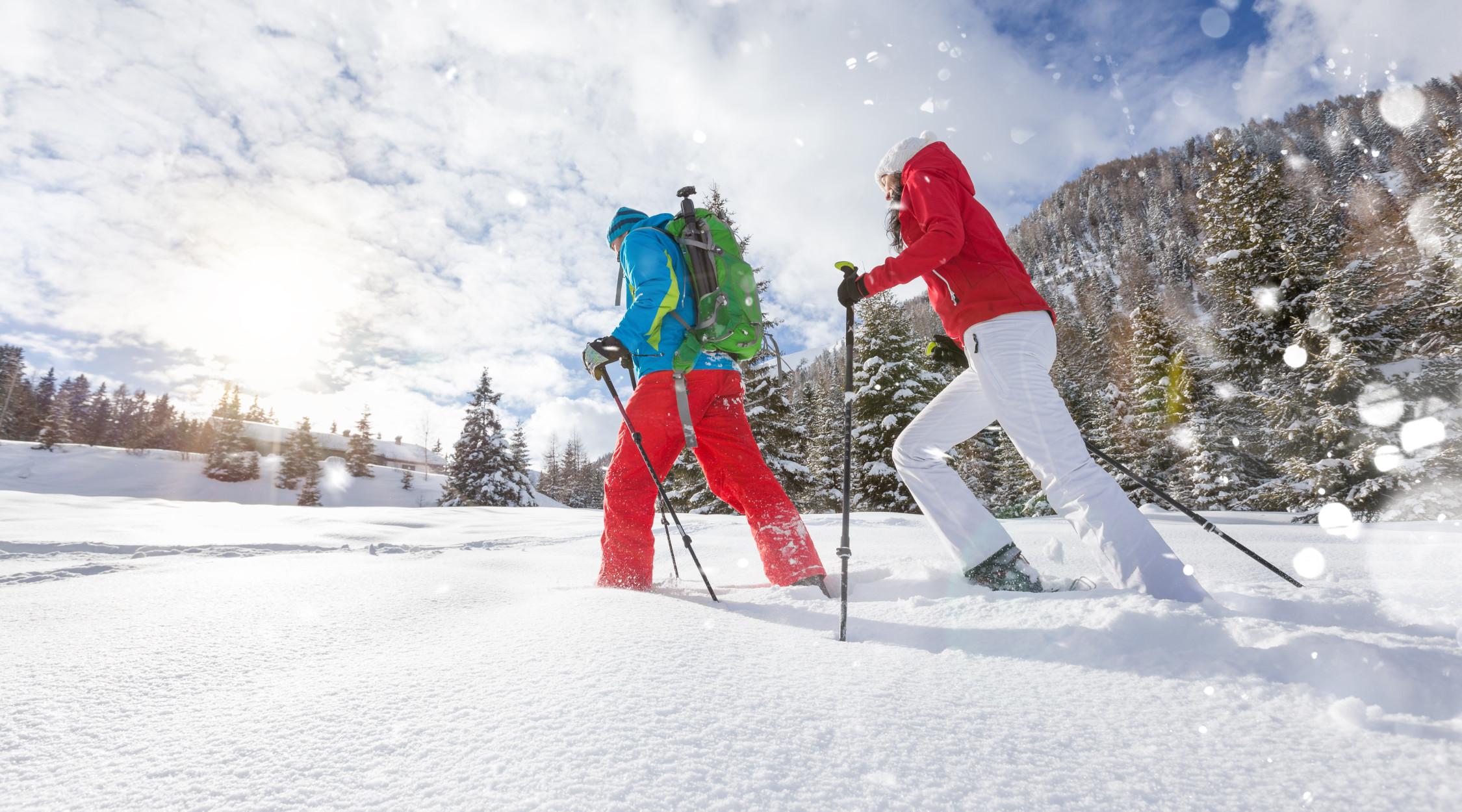 La Trentina | Calendario dell'Avvento | proverbi trentini | freddo neve ciaspole