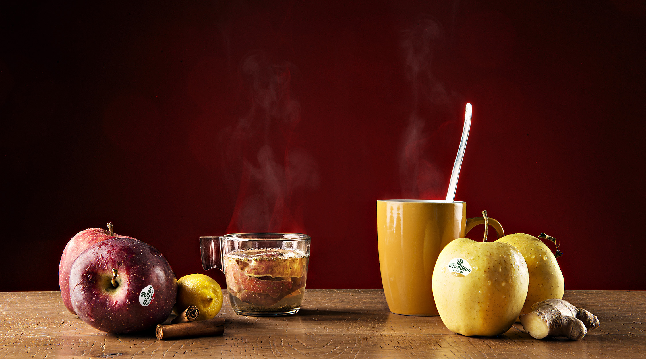 Tisane con le mele | La Trentina
