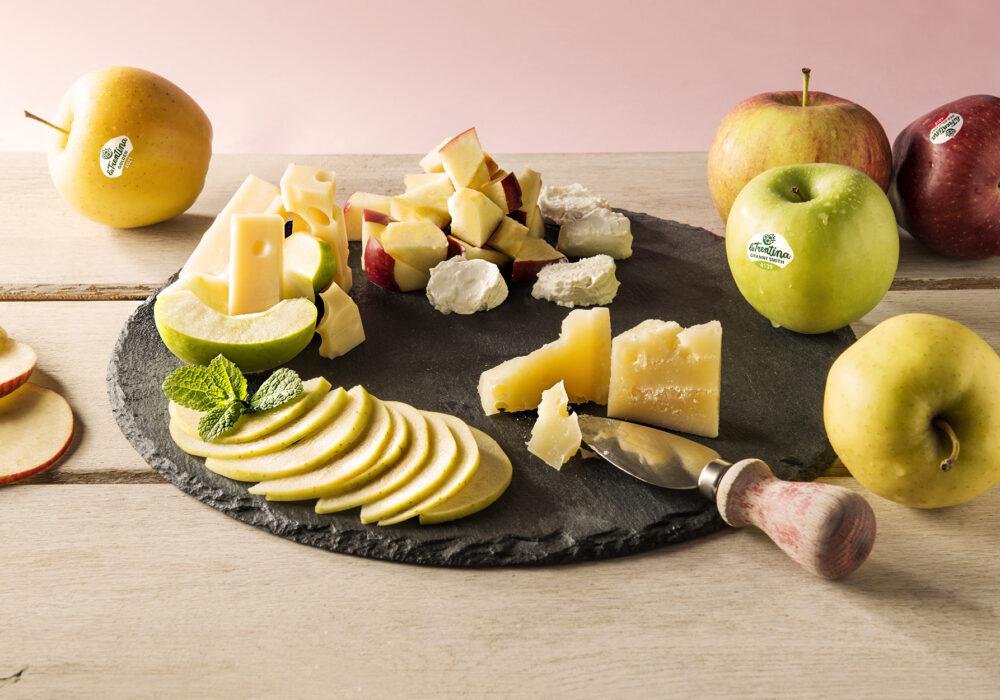 Mele e formaggi, ci avete mai pensato?