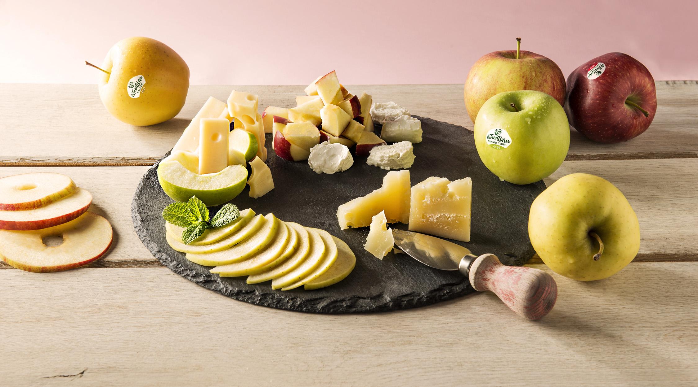 Mele e formaggi   La Trentina